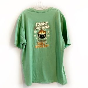 Tommy Bahama Green Grill Sergeant Graphic Tee